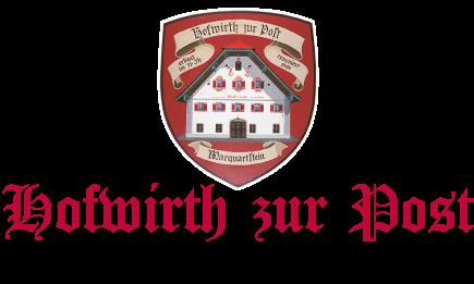 Hofwirth zur Post – Marquartstein